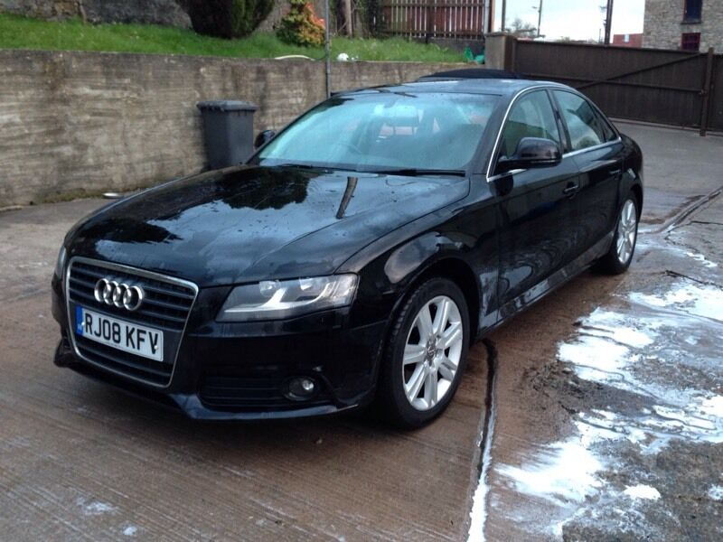 2008 b8 audi a4 se 2 0 tdi alloy wheels vw passat bmw. Black Bedroom Furniture Sets. Home Design Ideas