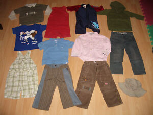 LOT - 12 - items of clothes for baby - BOY ----- size 18 - 2 T