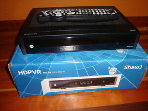 SHAW HD PVR 500GB