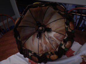 Antique Stained Glass Light Fixture -   Reduced  ! Windsor Region Ontario image 2