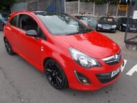 Vauxhall Corsa 1.2I VVT A/C LIMITED EDITION (red) 2013