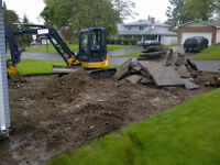 Construction Services Contractor, Excavation