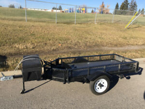 Custom Single Motorcycle trailer. $1200 or trade.