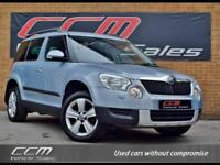Skoda Yeti 2.0 TDI CR SE Plus NAV 4X4 5DR 2011 + ONE OWNER + FULL HISTORY +