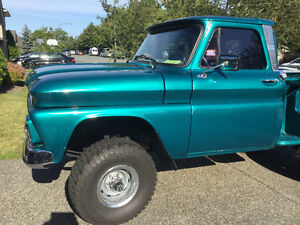 1966 CHEVY 4x4 SHORT BOX STEPSIDE