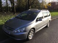 2005 Peugeot 307 1.6 Automatic-31,000-2 previous owners-September 2018 mot-mint condition