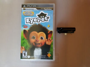 PSP Game - Eyepet with PSP Camera