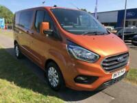 2020 Ford Transit Custom 320 L1 H1 Limited DCiV 2.0 185ps Auto PANEL VAN Diesel