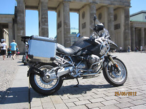 Loaded BMW R1200GS