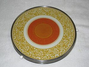 VINTAGE CAKE PLATE - ROTATING - CHECK IT OUT!  **30% OFF SALE**