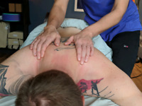 Massage Therapist for hire