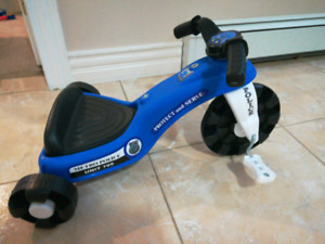 Brand new indoor police motorcycle tricycle