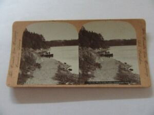 ANTIQUE STEREOVIEW SAINT JOHN NEW BRUNSWICK CANADA VIEW CO.