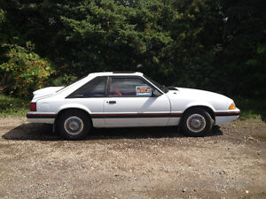 1989 Ford Mustang Hatchback