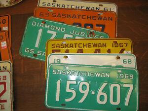 Vintage License Plates -- FROM PAST TIMES Antques - 1178 Albert Regina Regina Area image 5