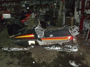 parting out 1980 yamaha 250 enticer
