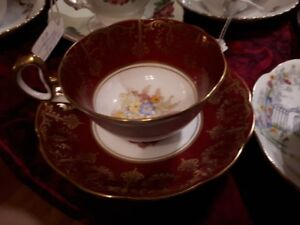 Bell teacup and saucer