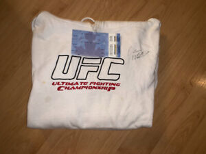 Dana White Autographed Hoodie from UFC 83.