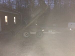 12x8 tandem dump trailer Kawartha Lakes Peterborough Area image 3