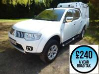 2013 Mitsubishi L200 2.5DI-D CR 175 Warrior LB Double Cab 4x4 Pickup Diesel