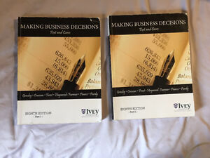 Making Business Decisions: texts and cases