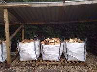 Logs - Split & Seasoned Hardwood - FREE DELIVERY