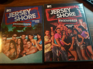 Jersey shore season 1 & 2 dvd