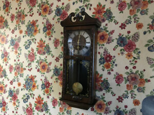 Antique Grandmother Clock Excellent Working Condition