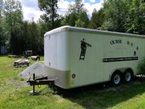 Enclosed trailer 16x8