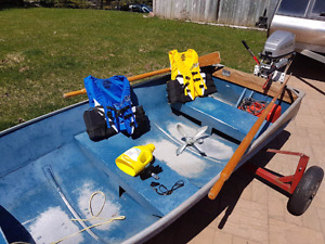 Boat and motor