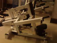 Excellent chest triceps Dip machine Paid 2200  sell for 290
