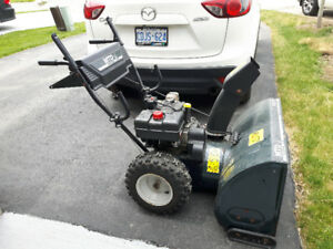 Enjoy Summer, but Prepare for Winter. Snowblower for Sale