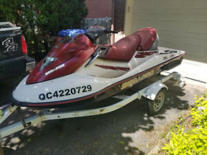 2003 Seadoo GTX di Bombardier Trailer included
