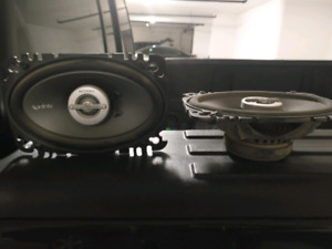 4x6 Infinity reference car speakers