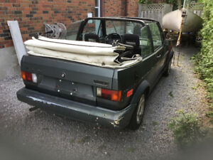82 VW Rabbit cabby