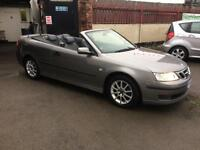 2004/54 Saab 9-3 2.0t Linear 2dr Convertible Grey/Black £2695