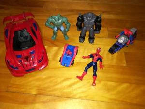 Lot de jouets Spiderman Narvel
