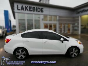 2015 Kia Rio SX  - one owner - local - trade-in - Certified