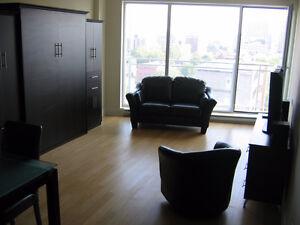 Beau studio centre-ville tout meublé
