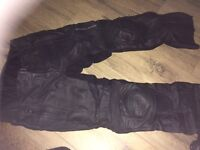 Frank Thomas Ladies Size 12 Motorcycle Trousers