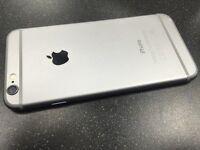 iphone 6 16 gig black ,,,,,,,o2 - gigg gaff