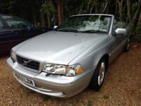 2004 Volvo C70 2.0 auto T - 12 MOMTHS MOT - CAMBELT DONE - 15 SERVICES STAMPS