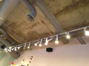 88 ft Lightolier Commercial Track 87 Head Mounts Retail Lighting