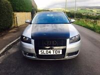 2004 Audi A3 1.6 Special Edition Silver 3 Dr