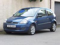 FORD FIESTA 1.25 STYLE 3 DOOR 2008 58 reg BLUE ONE LADY OWNER