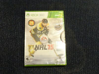 NHL 2015 for XBOX 360 Brand New and Sealed