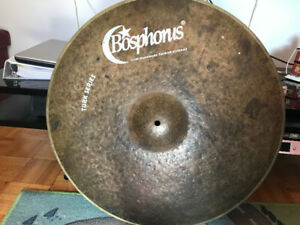 Bosporus and meinl cymbals