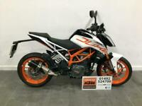 2020 KTM 390 Duke only 327 miles warranty until July '22, first service included