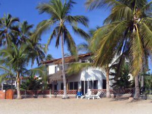 Bucerias Beachfront house Watching The Waves 3BD/3BA