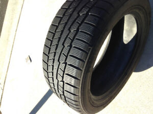 Used Snow  Tires ( like new) 255/50R19
